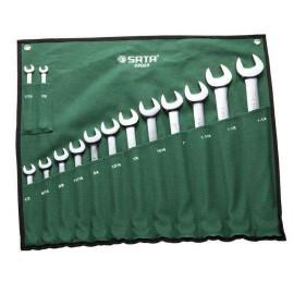 Bộ cờ lê vòng miệng Sata 14 chi tiết - 09069