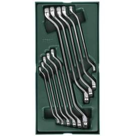 Bộ khay cờ lê hai đầu vòng 10 chi tiết hiệu SATA-09905