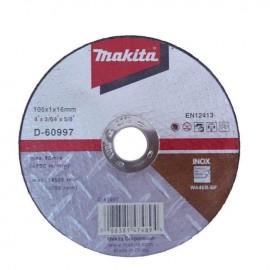 Đá cắt kim loại Makita D-60997, siêu mỏng và bền